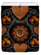 Some Snacks Pop Art Duvet Cover