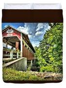 Somerset Glessner Bridge Duvet Cover