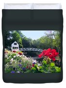 Somesville Bridge And Home Duvet Cover