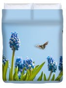 Something In The Air Duvet Cover by John Edwards