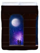 The View To Infinity Duvet Cover