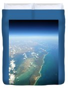 Somewhere Over Cuba Duvet Cover