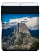 Somewhere Over Half Dome Duvet Cover