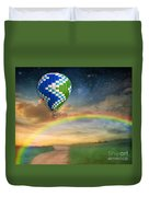 Somewhere Over The Rainbow Duvet Cover