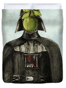 Son Of Darkness Duvet Cover by Eric Fan