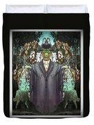 son-of-man Botticelli 2 Duvet Cover