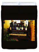 Song And Wine Duvet Cover