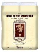 Song Of The Wanderer Duvet Cover
