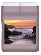 Song Of The Wave 2 By Denise Dube Duvet Cover