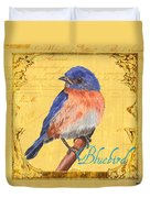 Colorful Songbirds 1 Duvet Cover