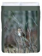 Songs Of Sparrows Duvet Cover