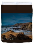 Sonoma Coast Duvet Cover by Bill Gallagher
