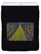 Sonoma Mustard Grass Duvet Cover