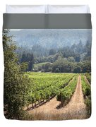 Sonoma Vineyards In The Sonoma California Wine Country 5d24515 Square Duvet Cover