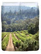 Sonoma Vineyards In The Sonoma California Wine Country 5d24518 Duvet Cover