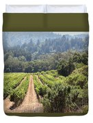 Sonoma Vineyards In The Sonoma California Wine Country 5d24518 Duvet Cover