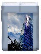 Sony Center In Downtown Berlin Duvet Cover