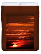 Soothing Saturday Sunset Duvet Cover