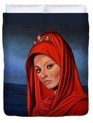 Sophia Loren 2  Duvet Cover