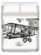 Sopwith F.1 Camel 1917 Duvet Cover