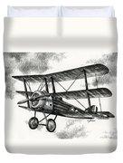 Sopwith Triplane 1917 Duvet Cover