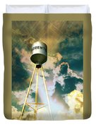 Sorento Illinois Tower Duvet Cover by Marty Koch