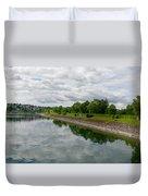 Sorpe Dam Panorama Duvet Cover