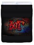 Sot Graffiti - Lisbon Duvet Cover