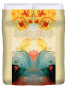 Soul Star - Abstract Art By Sharon Cummings Duvet Cover