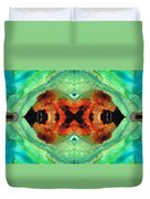 Soul Symphony - Abstract Art By Sharon Cummings Duvet Cover