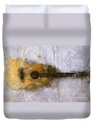 Sound Of Canvas II Duvet Cover