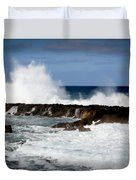 Sounds Of Hawaii Duvet Cover