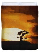 South African Sky Duvet Cover