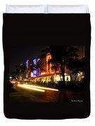 South Beach After Dark Duvet Cover