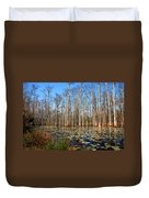 South Carolina Swamps Duvet Cover