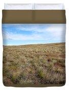 South-central Washington Grassland Duvet Cover