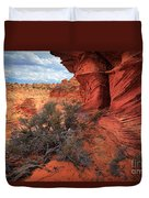 South Coyote Buttes Grand View Duvet Cover by Inge Johnsson
