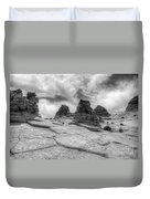 South Coyote Buttes Monochrome 1 Duvet Cover
