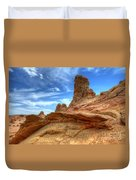 South Coyotte Buttes 8 Duvet Cover by Bob Christopher