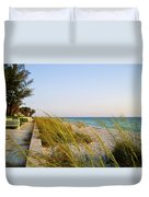 South Florida Living Duvet Cover