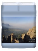 South Fork Fire Duvet Cover
