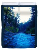 South Fork Of The Tieton  Duvet Cover