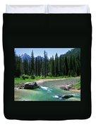 South Fork Payette River Grandjean Duvet Cover