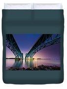 South Grand Island Bridge Duvet Cover