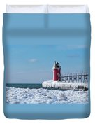 South Haven Ice Duvet Cover