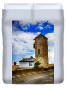 South Lookout Tower Aldeburgh Beach Duvet Cover