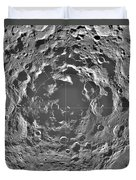 South Pole Of Moon  Duvet Cover