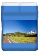 South Sister And Highway Duvet Cover