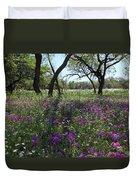 South Texas Meadow Duvet Cover
