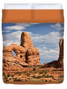 South Window Arches National Park Duvet Cover